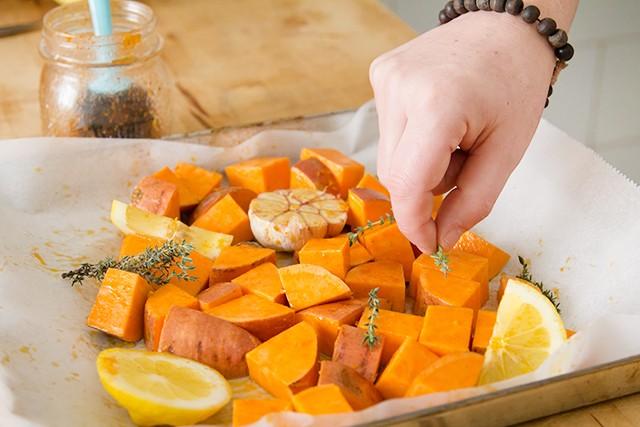 Patate dolci al forno step3