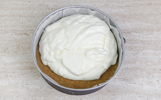 Cheesecake al limone step4