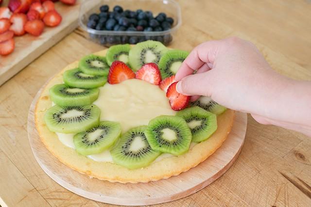 Torta alla frutta step5