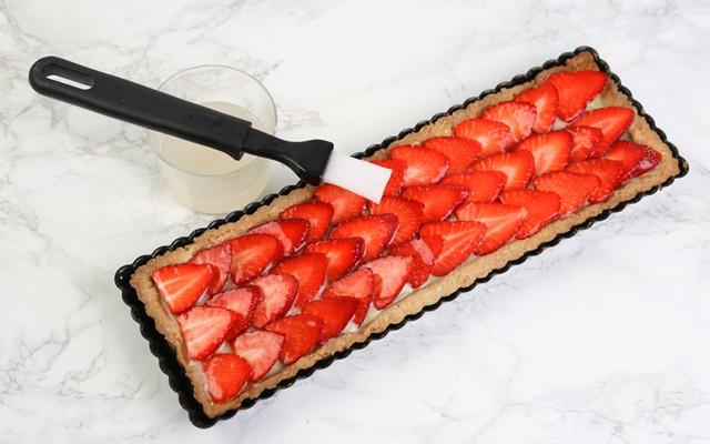 Crostata di fragole step6