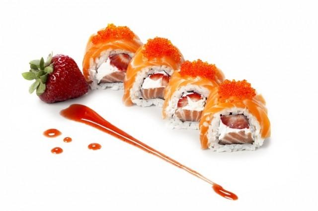 sushi fragole