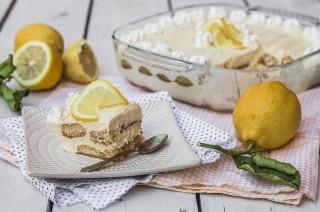 Tiramisù al limone: fresco e aromatico