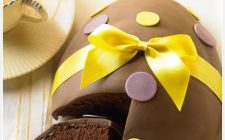La torta a forma di uovo di Pasqua con la ricetta facile