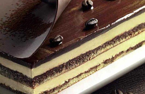 La torta Opera secondo la ricetta originale