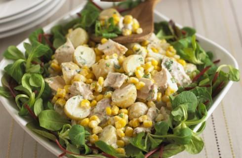 Insalata di pollo e patate: per il picnic