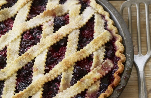 Blueberry pie: torta di mirtilli