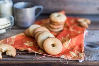 Frollini, biscotti con panna