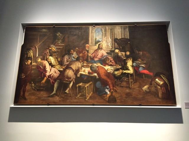 Tintoretto l'Ultima Cena Santa Sede Expo