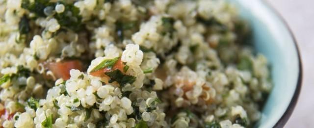 insalata di quinoa e bulgur