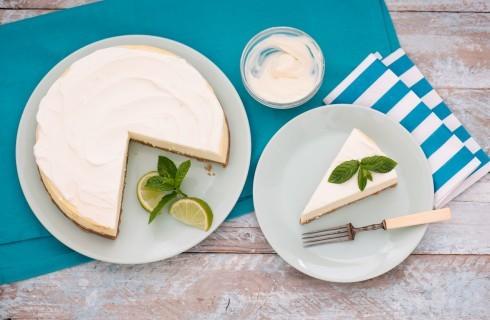 Cheesecake al miele con yogurt greco