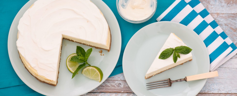 Cheesecake al miele con yogurt greco