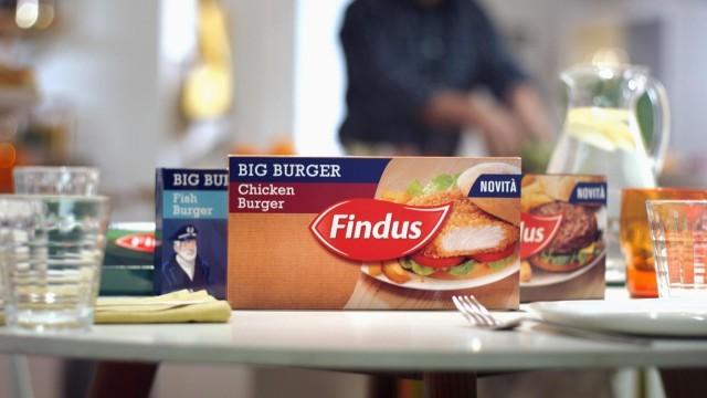 chicken burger findus