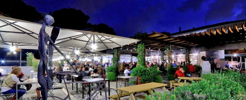Mangiare all'aperto: 10 dehors tra i più belli di Roma