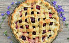 Ecco la crostata alle ciliegie e crema pasticcera