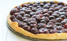 La crostata di ciliegie con la ricetta per il Bimby