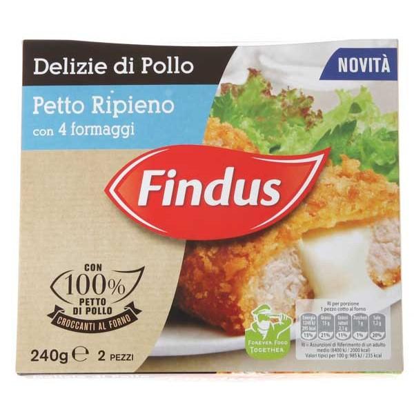 delizie di pollo findus