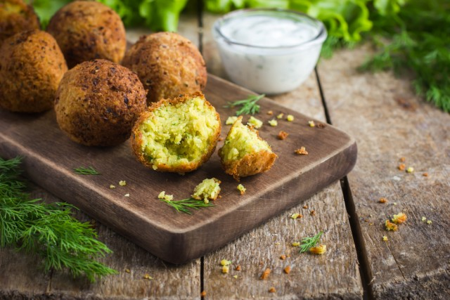 falafel - vegetariani