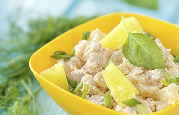 L'insalata di pollo con maionese facile da fare