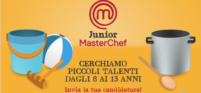 Junior Masterchef Italia 3: aperte le selezioni