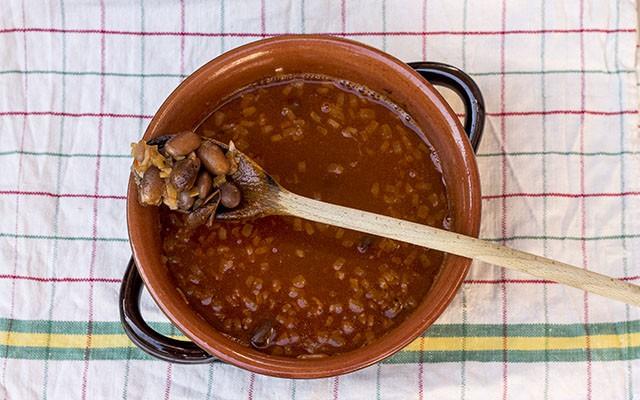 pasta e fagioli alla napoletana step5