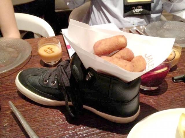 piatto scarpa