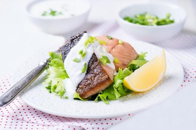 salmone yogurt Muller