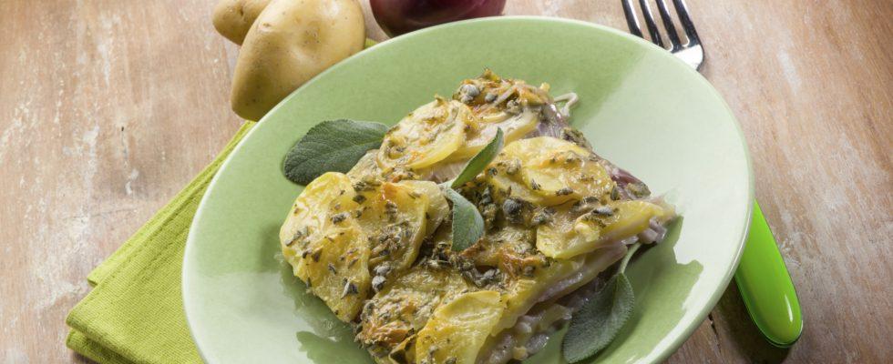 Lo sformato di patate e broccoli da fare in casa