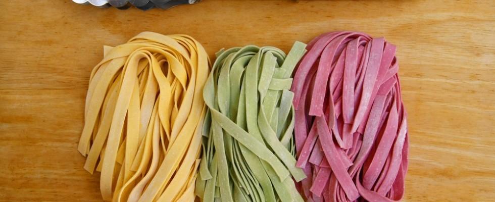 Tutorial: come colorare la pasta fresca