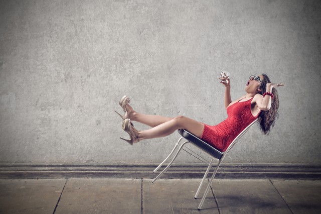dondolarsi sulla sedia