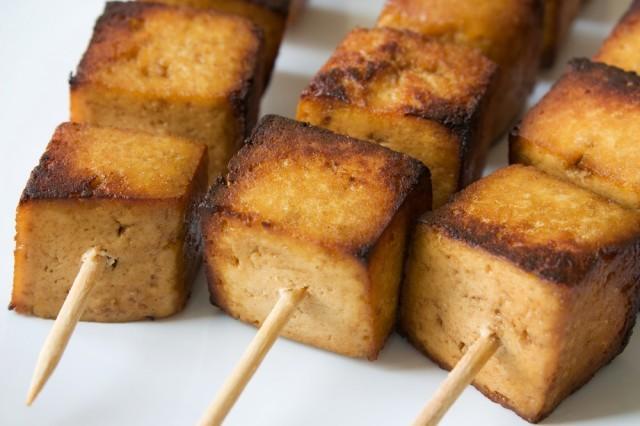 tofu spiedini