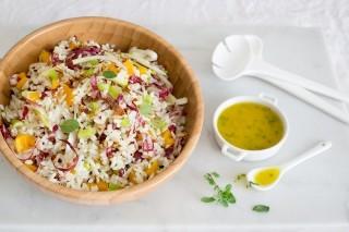 Insalata di riso vegetariana: ricetta estiva