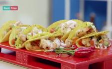 Tacos di gamberi: la ricetta facile di Benedetta Parodi