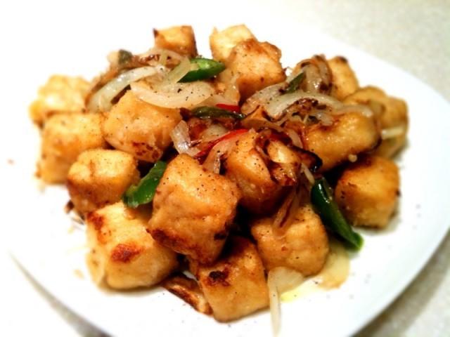 tofu al pepe