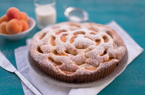 Torta di albicocche: rustica e soffice