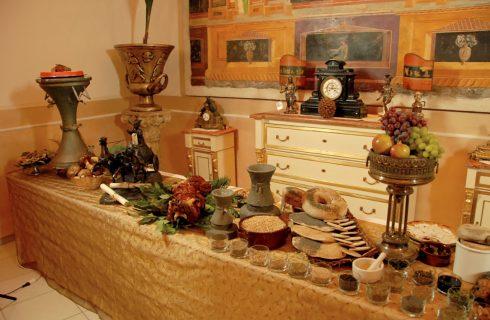 """Expo 2015: """"A tavola con gli antichi romani"""" e lo chef Gian Marco Carli"""