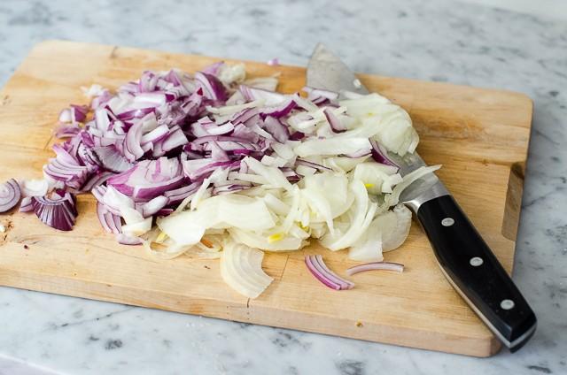 Frittelle di cipolle alla menta  (4)