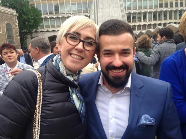 Manuela Fissore e Vladimir Muchin