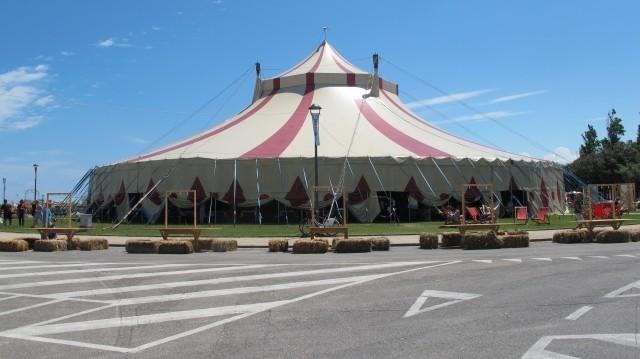 Il tendone da circo
