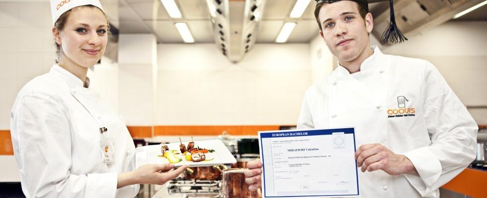 Coquis: al via la laurea triennale in cucina