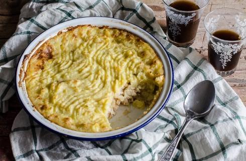 Pasticcio di pollo con patate