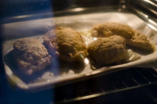 Pollo alla valdostana al forno-5