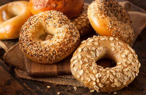 Il bagel, la classica colazione di New York