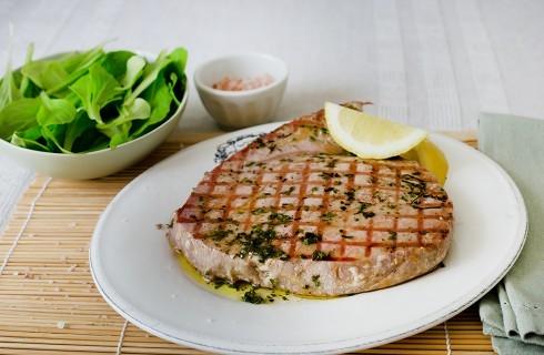 Bistecca di tonno, leggera e saporita