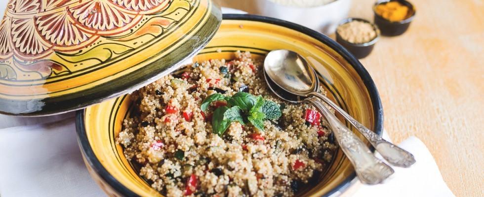 Cous Cous di quinoa: vegano