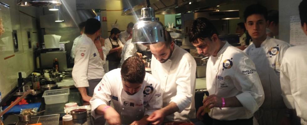 Gennaro Esposito presenta a Vico i grandi Chef di domani
