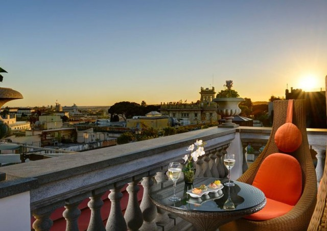 hotel savoy roma