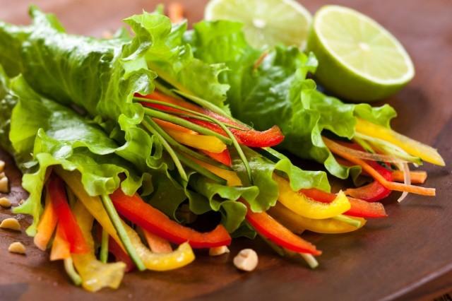 involtini di insalata dieta settimanale muller