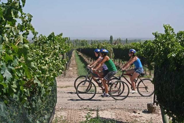 itinerario in bici
