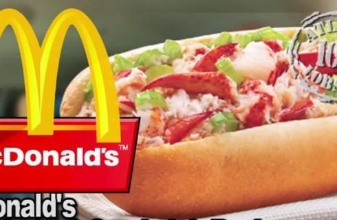 McDonald's e il McLobster, il panino con l'astice canadese