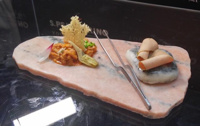 il piatto di paolo griffa, trippa e fegato grasso